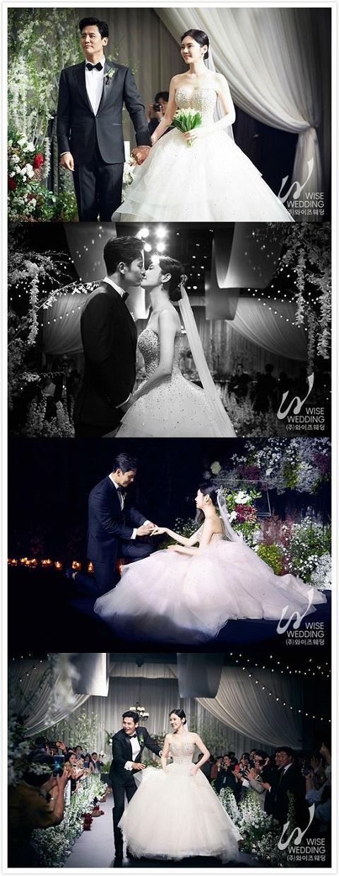 于晓光秋瓷炫婚礼现场照片