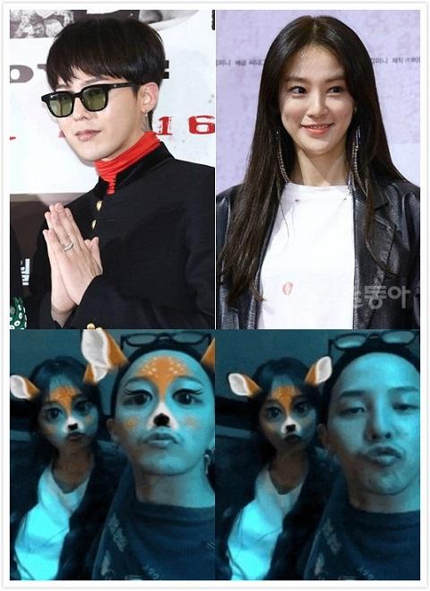 李周妍G-Dragon