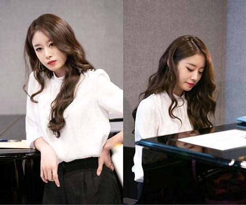 樸智妍出演《請讓我聆聽你的歌》變身高冷小提琴手