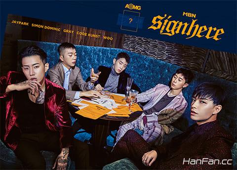 hiphop选秀节目《Signhere》