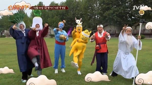 tvN新综艺《新西游记7》