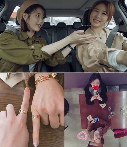 IU和刘仁娜