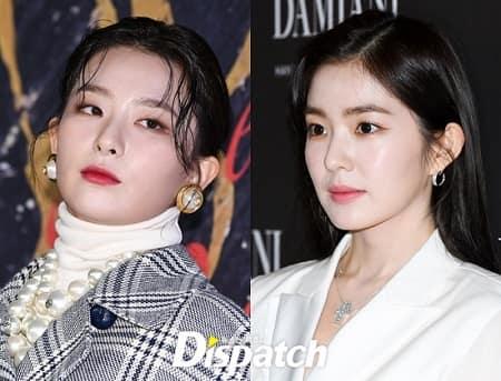 Red Velvet涩琪和Irene