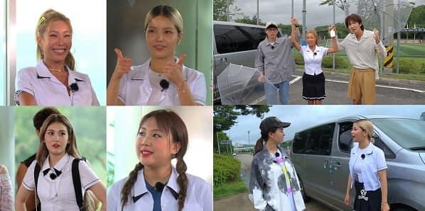 Jessi&SOMI&颂乐&李英智